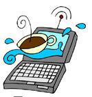 Кава з електронною книжкою